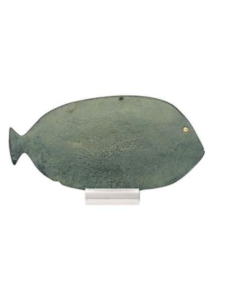 Paleta de sombras de ojos en forma de pez