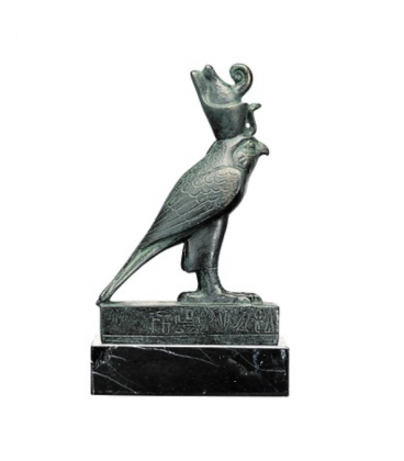 Horus in the form of a falcon