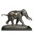 Elephant running by Antoine-Louis Barye