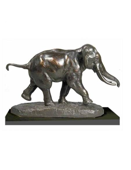 Elephant running by Antoine-Louis Barye