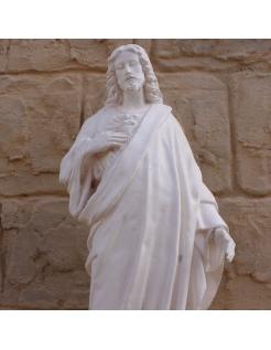 Estatua del Corazon Sagrado de Jesus