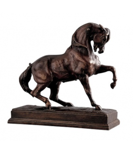 Horse kicking by Antoine-Louis Barye