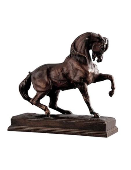 Cheval piaffant par Antoine-Louis Barye