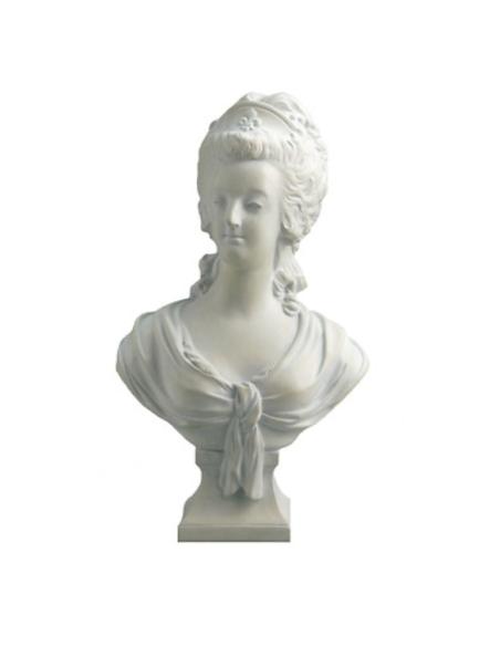 Busto de María Antonieta por Jean-Nicolas-Alexandre Brachard