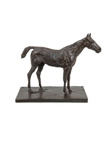 Cheval à l'arrêt par Edgar Degas
