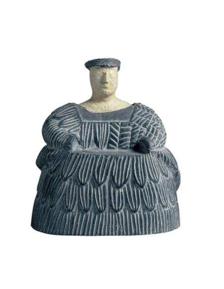 Estatuilla de mujer bactriana