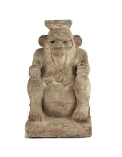 Statue dieu Bés