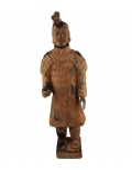 Estatua de un guerrero del ejército de Xian.