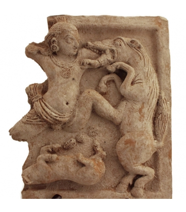 Krishna Killing the Horse Demon Keshi