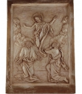 Low relief resurrection of Jesus Christ