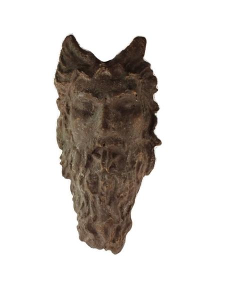 Roman faun mask