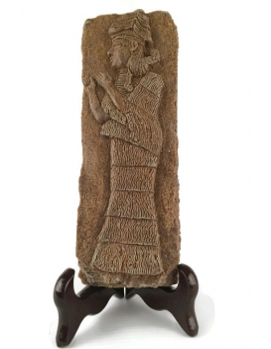 Estatua de una divinidad asiria