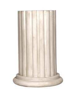 Media columna acanalada corintio