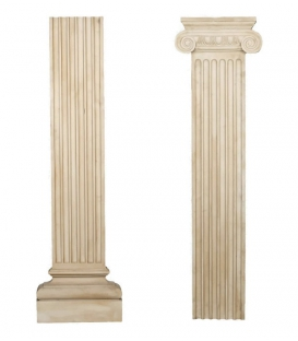 Decorative flat pilaster