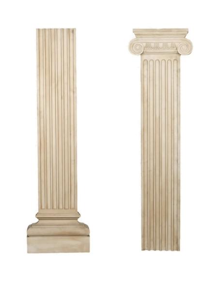 Pilastre plat décoratif