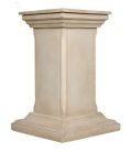 Plain square pedestal
