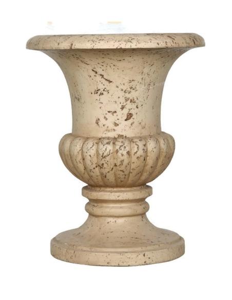 Vase Travertin
