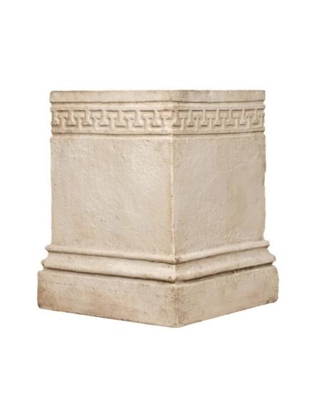 Pedestal with classical greek motifs