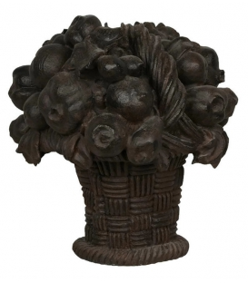 Fruit basket garden decoration