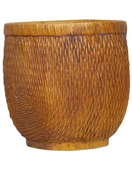 Malaysian style planter pot