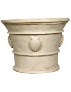 Cache-pot décors coquillages