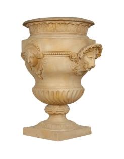 Lions vase