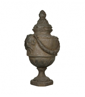 Empire vase with lid