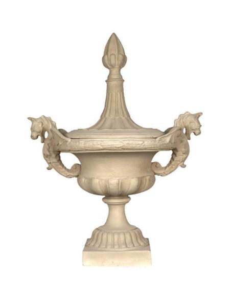 Vase fantaisie avec couvercle