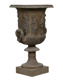 Neoclassic vase with handles