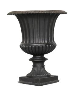 Grande vase à rainures