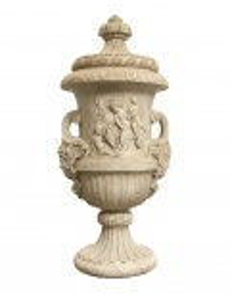 Prado vase with lid