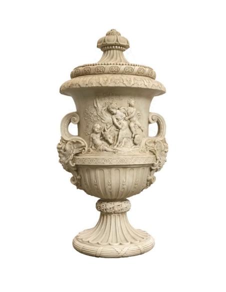 Vase Prado avec couvercle