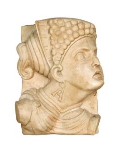 Médaillon visage de femme