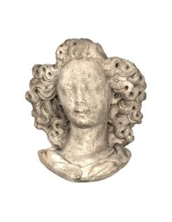 Busto de ángel estilo gótico