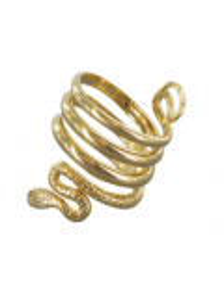 Anillo serpiente griega