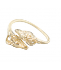 Ring with ibexes