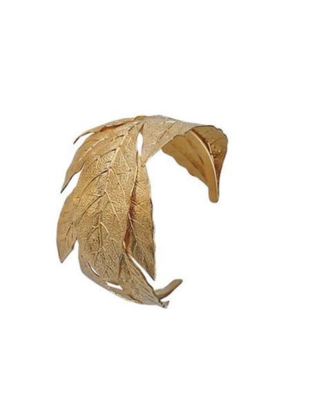 Pulsera hojas de laurel