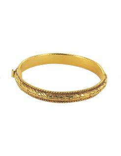 "Bracelet demi-jonc ""Scène de fête"""
