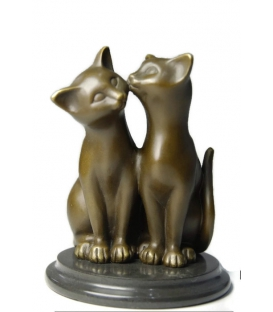 Pair of little cats by Miguel Fernando López (Milo)