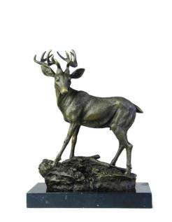 Young stag by Miguel Fernando López (Milo)