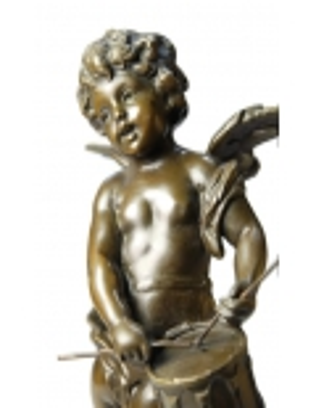 Angelito con tambor por Hippolyte François Moreau