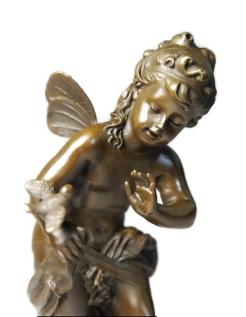 Angelito con el pajarito de Hippolyte François Moreau