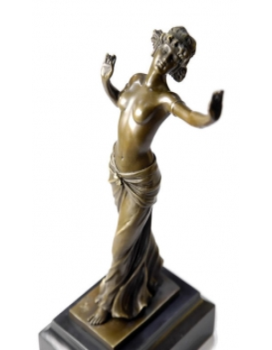 Bailarina semidesnuda de Ferdinand Preiss