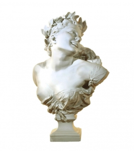 Bust of Bacchante