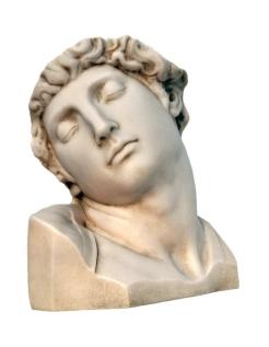 Busto Esclavo moribundo de Miguel Ángel