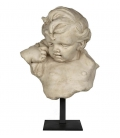 Child bust, right side