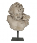 Child bust left side