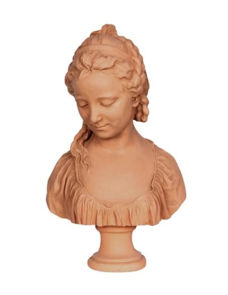 Busto de la buscadora de Espíritu por Claude-Francois Attiret