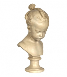Bust of the girl with braids according to Jacques-François-Joseph Saly