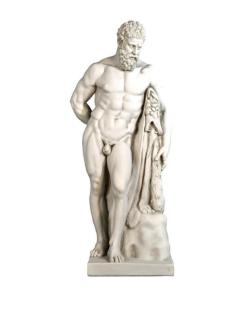 Hercules Farnese or Hercules resting